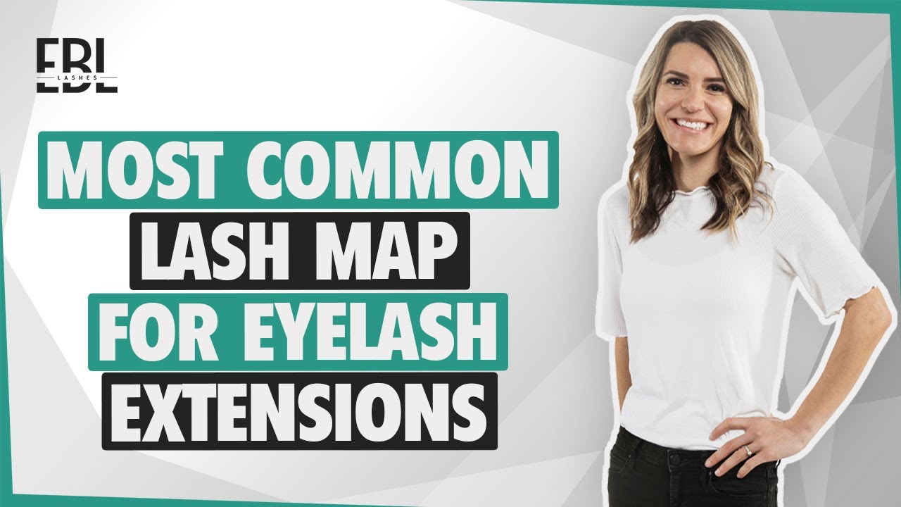 How To Lash Map For Eyelash Extensions By Ebl Lashes Youtube
