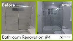 Bathroom Renovation - Before and After - Lake Worth FL. | Veltuz