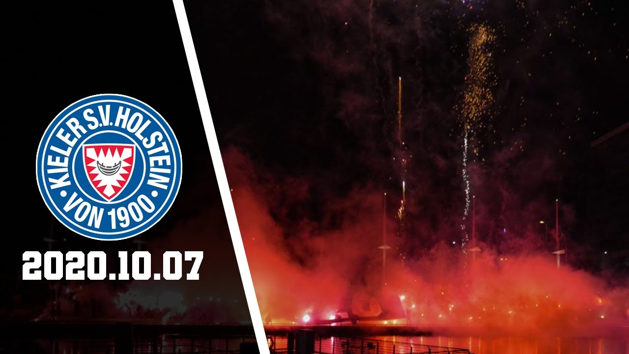 120 jahre holstein kiel ksv fans feuerwerk pyro 07 10 2020