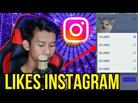 Cara Menambah Likes Instagram Terbaru 2020