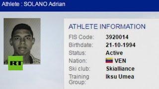 La Policía francesa se mofa de un esquiador venezolano y le hace perder un campeonato