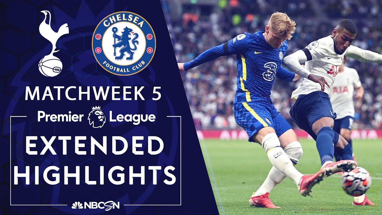 Download Tottenham Hotspur v. Chelsea | PREMIER LEAGUE HIGHLIGHTS | 9/19/2021 | NBC Sports