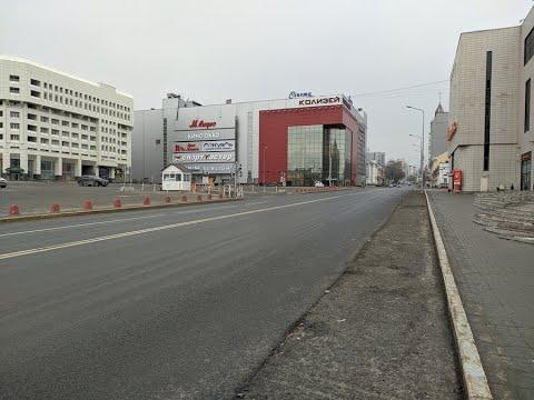 Пустые улицы Перми. Коронавирус. 4-й день режима полной самоизоляции.