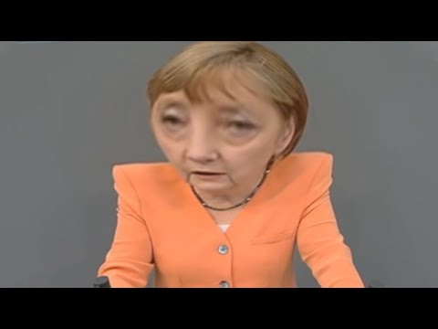 YouTube Kacke: Merkel mieft