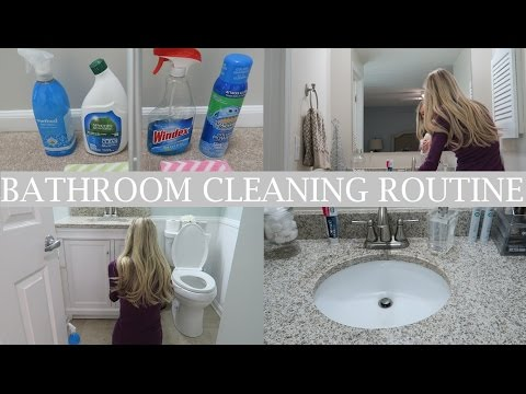 My Bathroom Cleaning Routine | Clean With Me | Erica Lee