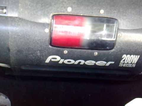 subwoofer pioneer tswx20lpa the pump youtube