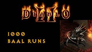 Diablo 2 - 1000 Baal Runs