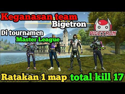 Keganasan Team Bigetron Esport Di Turnamen Master League Dengan Total Kill 17 Kill