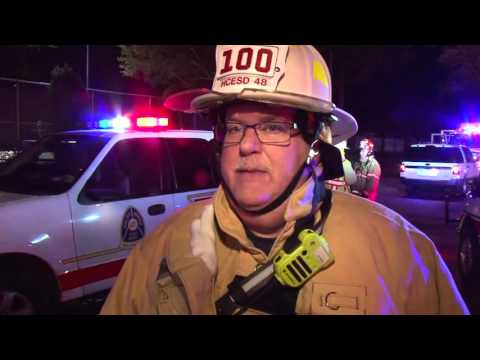2 24 16 Highland Knolls 2 Alarm Fire - Interview with Fire Chief