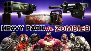 Dead Trigger 2 Chainsaw Rocket Launcher Type92 (HEAVY PACK) vs. Zombies HD