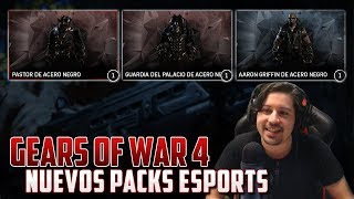 Gears of War 4 | Nuevos Packs de Personajes Black Steel!!