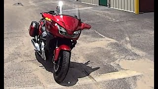 Honda CTX 1300 is Better than a Harley Street Glide   Audio Corrected