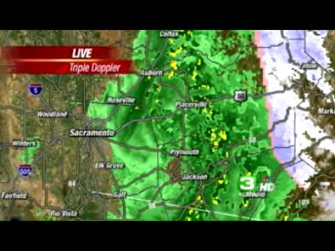 Valley Gets Soaked; Sierra Welcomes Snow
