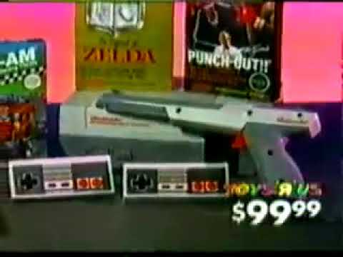 Toys R Us NES Christmas Commercial