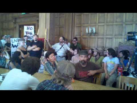 Raw Video: Environmental activists meet with MT Gov