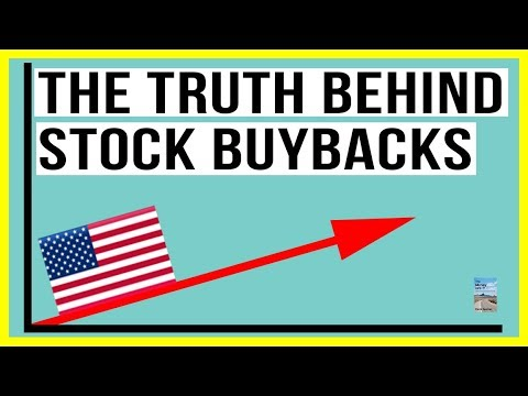 The TRUTH Behind Stock Buybacks! The REAL Reason Why Companies Buy Back Their Own Shares!