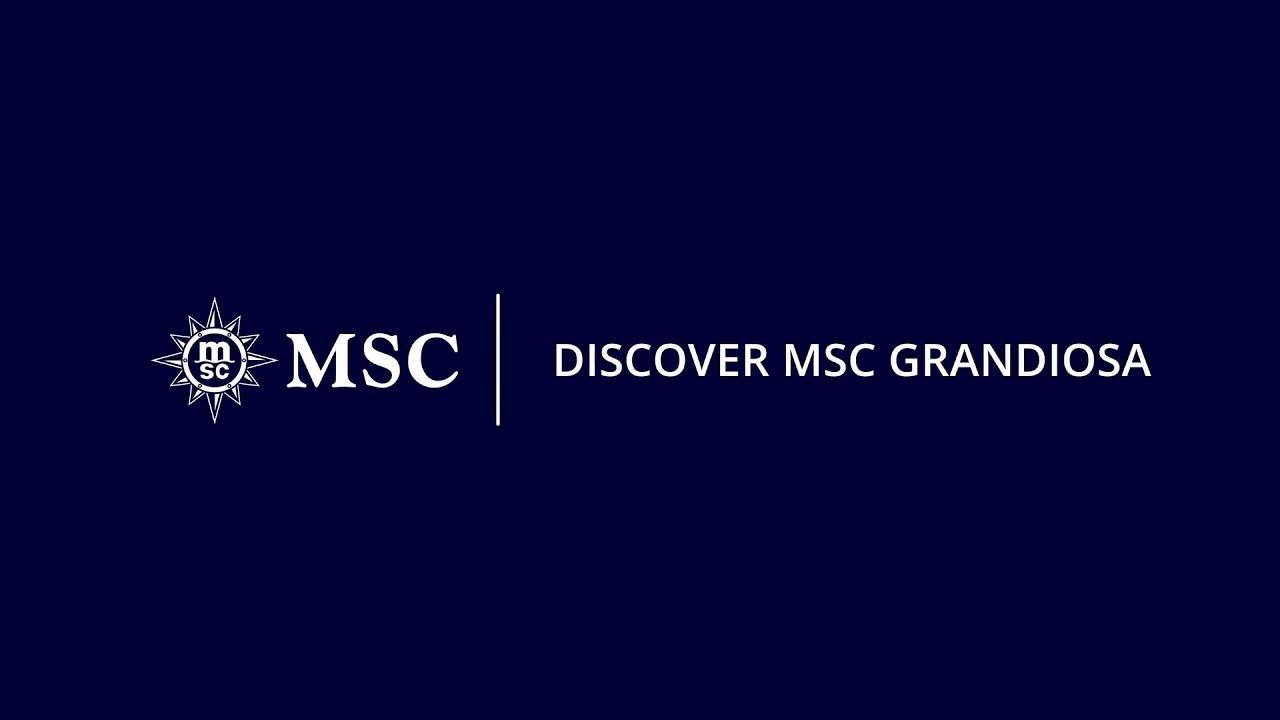 MSC Grandiosa - Visita ao Navio - YouTube