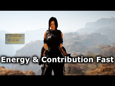 BDO - Getting High Energy & Contribution Points Quickly!