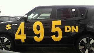 New Kia Soul.  only $495. Down @ Fredy Kia