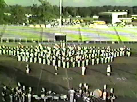 Acadiana High School Marching Band CATS 1986