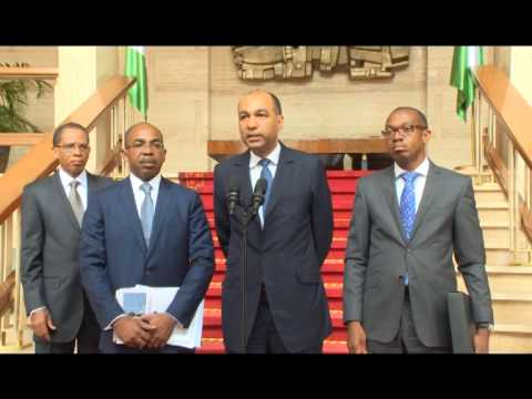 RTI: Présidence : le Président Ouattara reçoit PDG Emerging Capital Partner