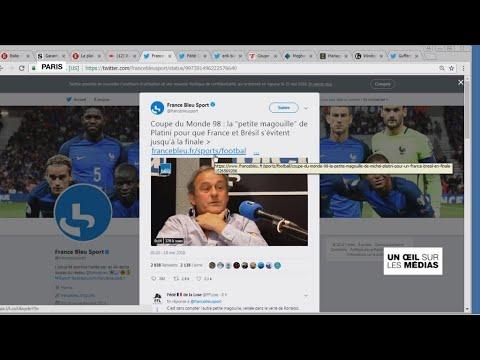"Michel Platini confesse une "" petite magouille "" lors du Mondial 1998"