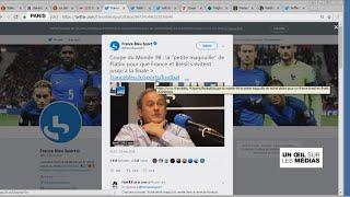 Michel Platini confesse une