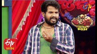 Hyper Aadi Performance  Jabardasth   Double Dhamaka Special   26th January 2020    ETV Telugu