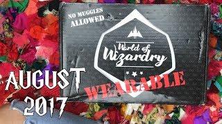 August 2017 World of Wizardry Geek Gear WEARABLE Unboxing