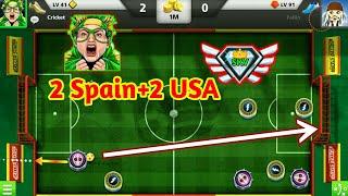 4th Account 2 Spain Full Game 2 USA Insane Goals Amazing Skills Soccer Stars Full HD 1080p