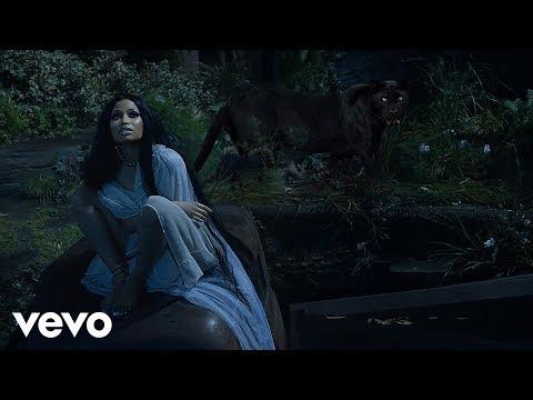 Nicki Minaj, Kendrick Lamar, SZA  All The Stars Black Panther Soundtrack MASHUP
