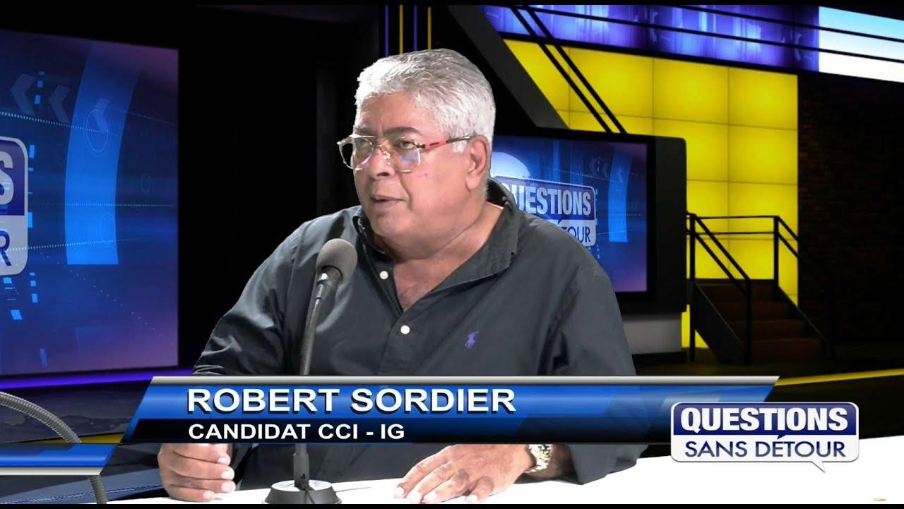 ROBERT SORDIER - Candidat CCI IG est l'invité sur ETV dans QSD
