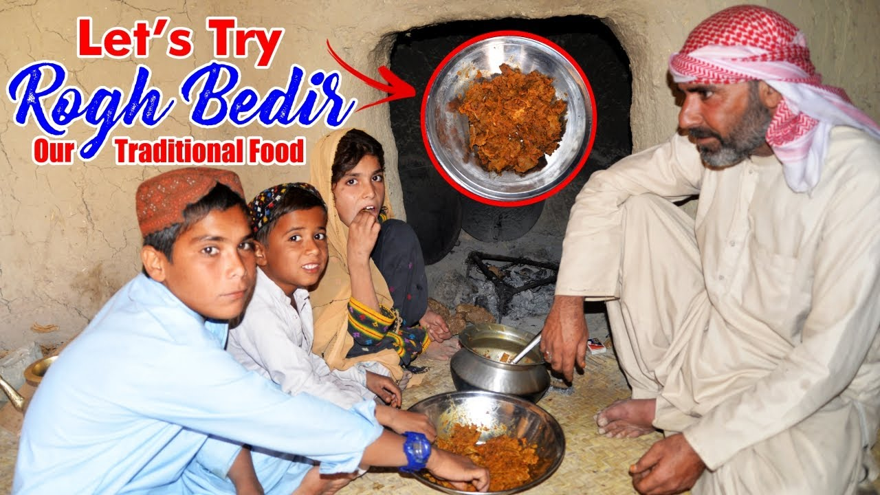 Let's Try Our Traditional Food ''Rogh Bedir'' | Pir Jan Rind