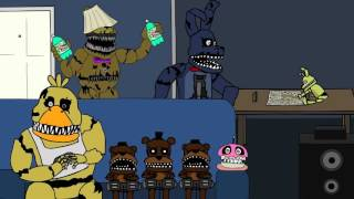 Фнаф 4 мультик анимация