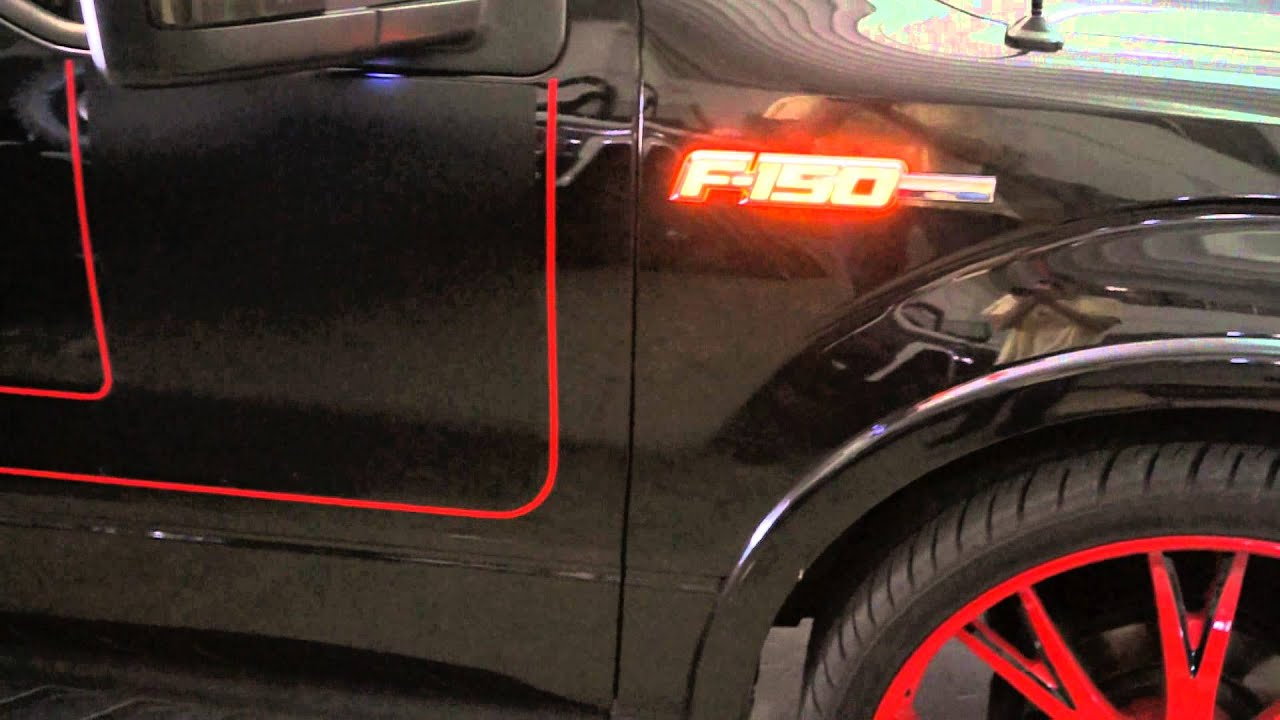Recon Part 264282am 09 14 Ford F 150 Illuminated Emblems