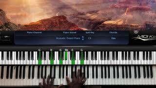 Minister GUC - God oḟ Vengeance Piano Tutorials For Beginners