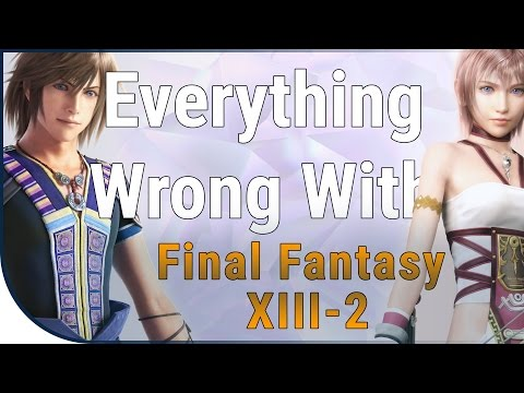 GAME SINS | Everything Wrong With Final Fantasy XIII-2