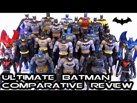 Ultimate DCUC/DCSH BATMAN: The Dark Knight Comparative Figure Review (EVERY FIGURE)