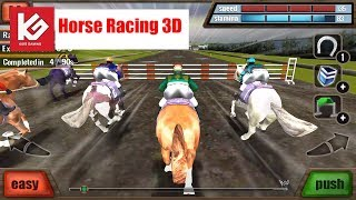 Horse Racing Game Play Video - Horse Racing 3D