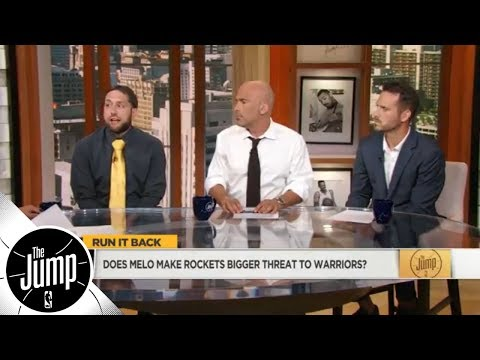 Does Carmelo Anthony make the Rockets a bigger threat to Warriors? | The Jump | ESPN