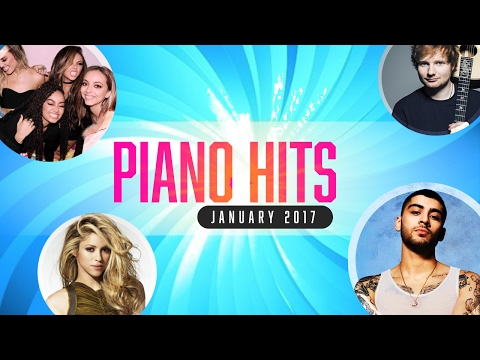 Piano Pop Songs January 2017  Over 1 Hour of Billboard Hits