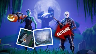Snow and a * new * CASTLE-FORTNITE