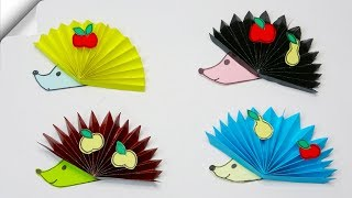 DIY paper crafts for kids | Paper hedgehog | Paper toys