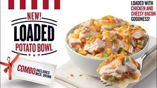 Carbs - Kfc Loaded Potato Bowl