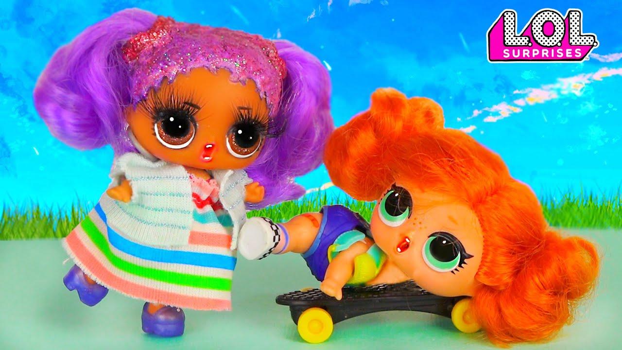 Ужасная реакция Скейти на беременную Марию! ШОК! Скейти бросила Луао! Сериал про любовь и куклы лол!