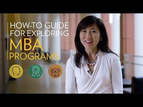 A How-To Guide for Exploring MBA Programs