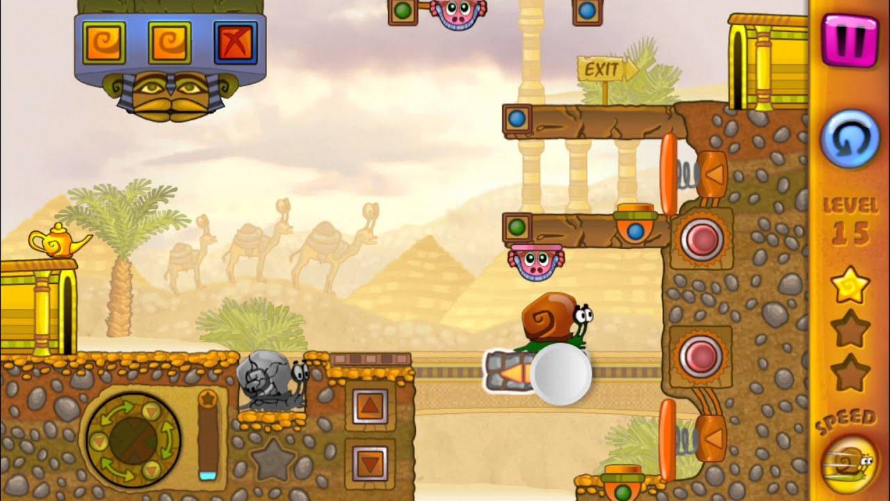 How to play snail bob 3 level 15 — photo 2