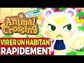 Comment VIRER (FAIRE PARTIR) Un Habitant RAPIDEMENT🦄 Animal Crossing New Horizons Mise à Jour 1.2.1