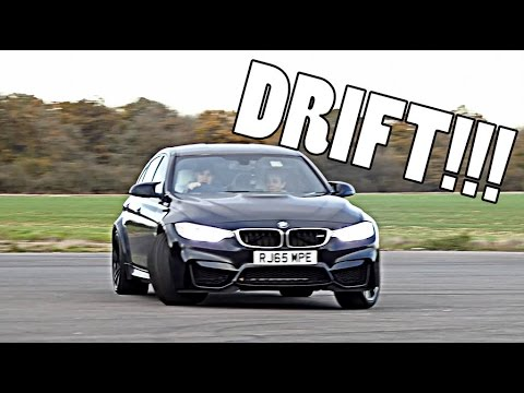 MY FIRST DRIFT IN NEW BMW M3!!