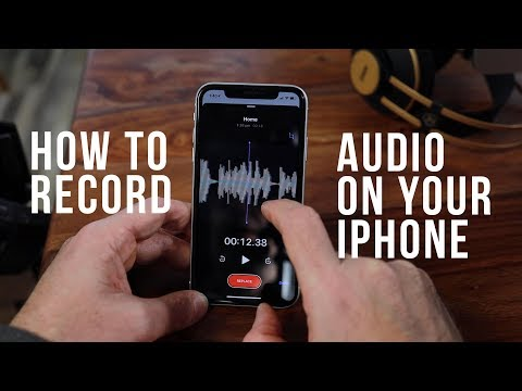 How to Record Audio with your iPhone - Voice overs, Notes and Dictation